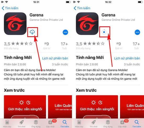 Cách tải và cài đặt Garena Mobile trên iPhone
