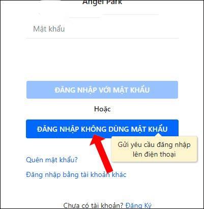 Cách đăng nhập Zalo trên máy tính không cần mật khẩu